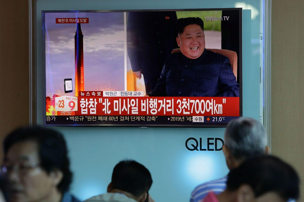 North Korea missile test over Japan shows Guam in reach