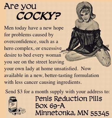 penis reduction pills