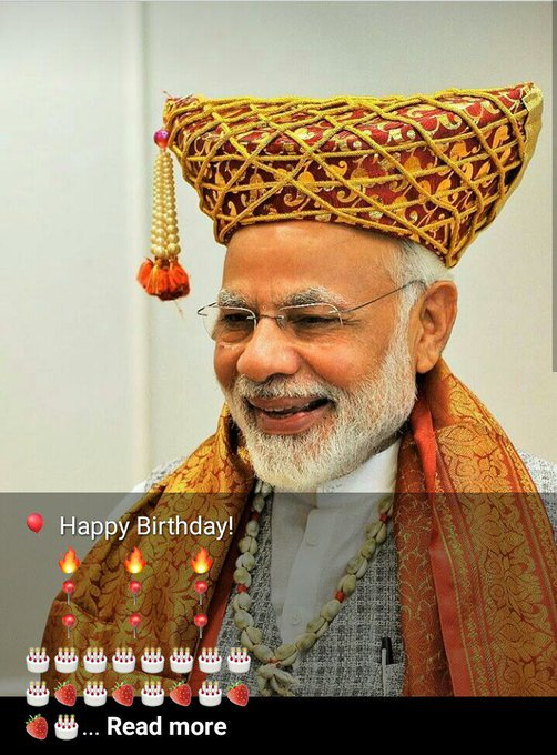 Wish You Happy 67th Birthday PM Narendra Modi Ji