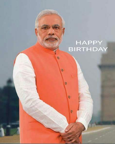 Happy Birthday to Mr. Narendra Modi, Blessed Prime Minister of our country