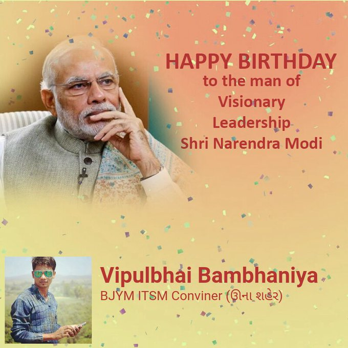 Happy birthday....shree Narendra Modi Sir