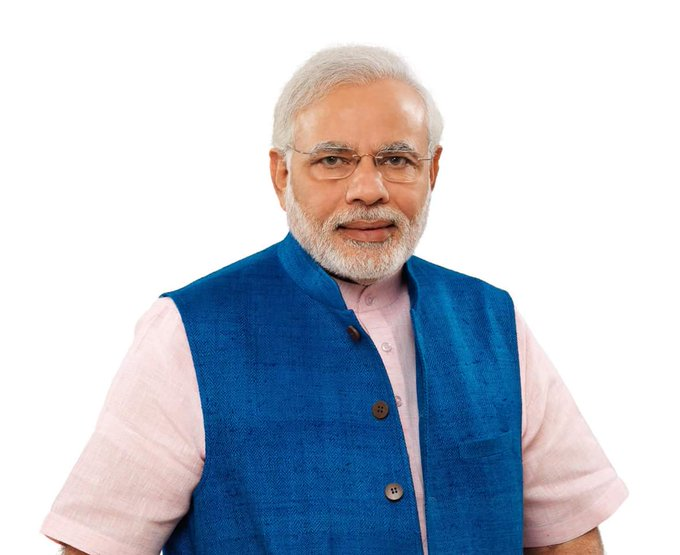 Happy birthday to our PM Shree Narendra Modi sir .