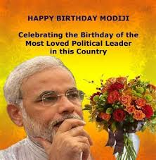 Wishing Narendra Modi Sir a very Happy Birthday.