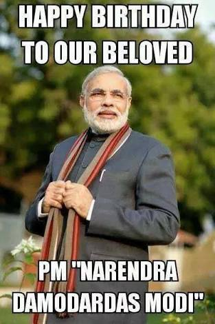 happy bday narendra modi sir