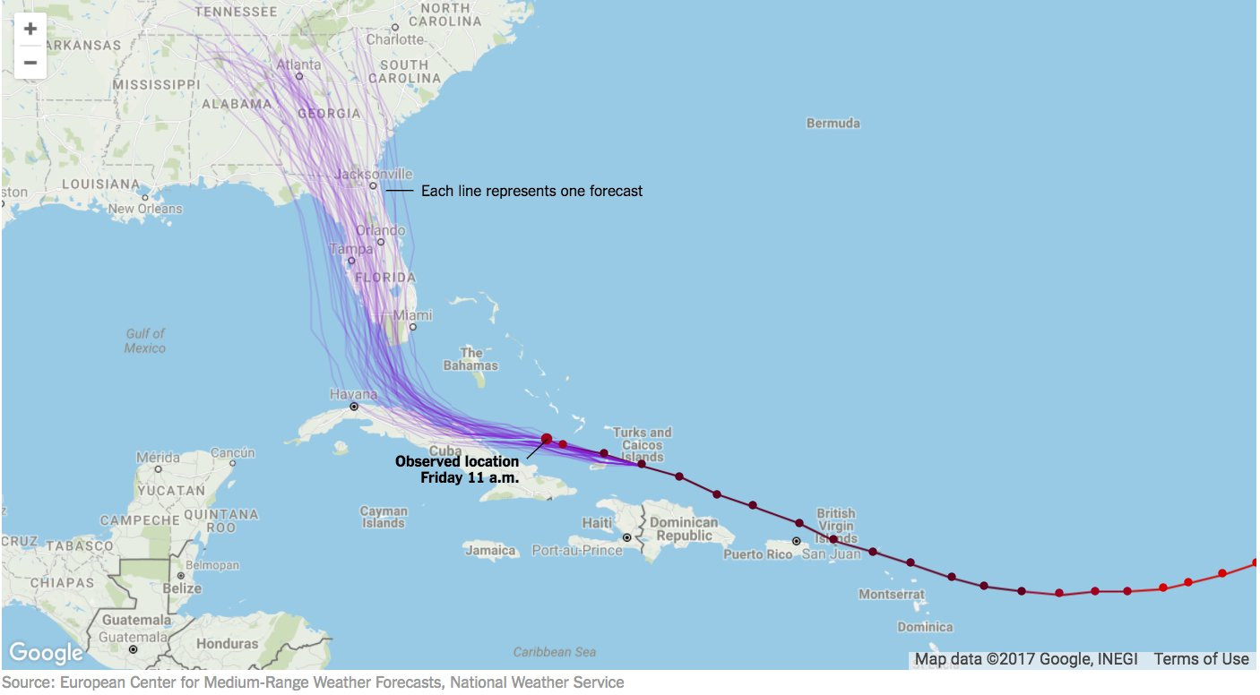 Maps: Tracking Hurricane Irma's path https://t.co/6qCIHRaDzc https://t.co/tAOMO621Ev