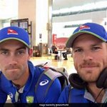 India Vs Australia: Aussie Limited-Overs Specialists Arrive In Chennai
