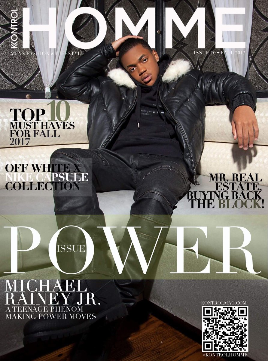 RT @michaelraineyjr: Thanks #KontrolHomme & #KontrolMag for this nice write up & dope cover #PowerTv https://t.co/JbLNtv6l8D