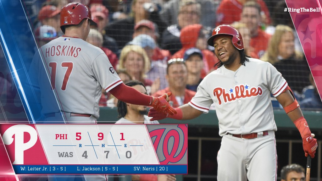 Hoskins & Franco lead the way in win over Nats: https://t.co/pQBrtaq1Ki  #RingTheBell https://t.co/DZCRfJPMCb