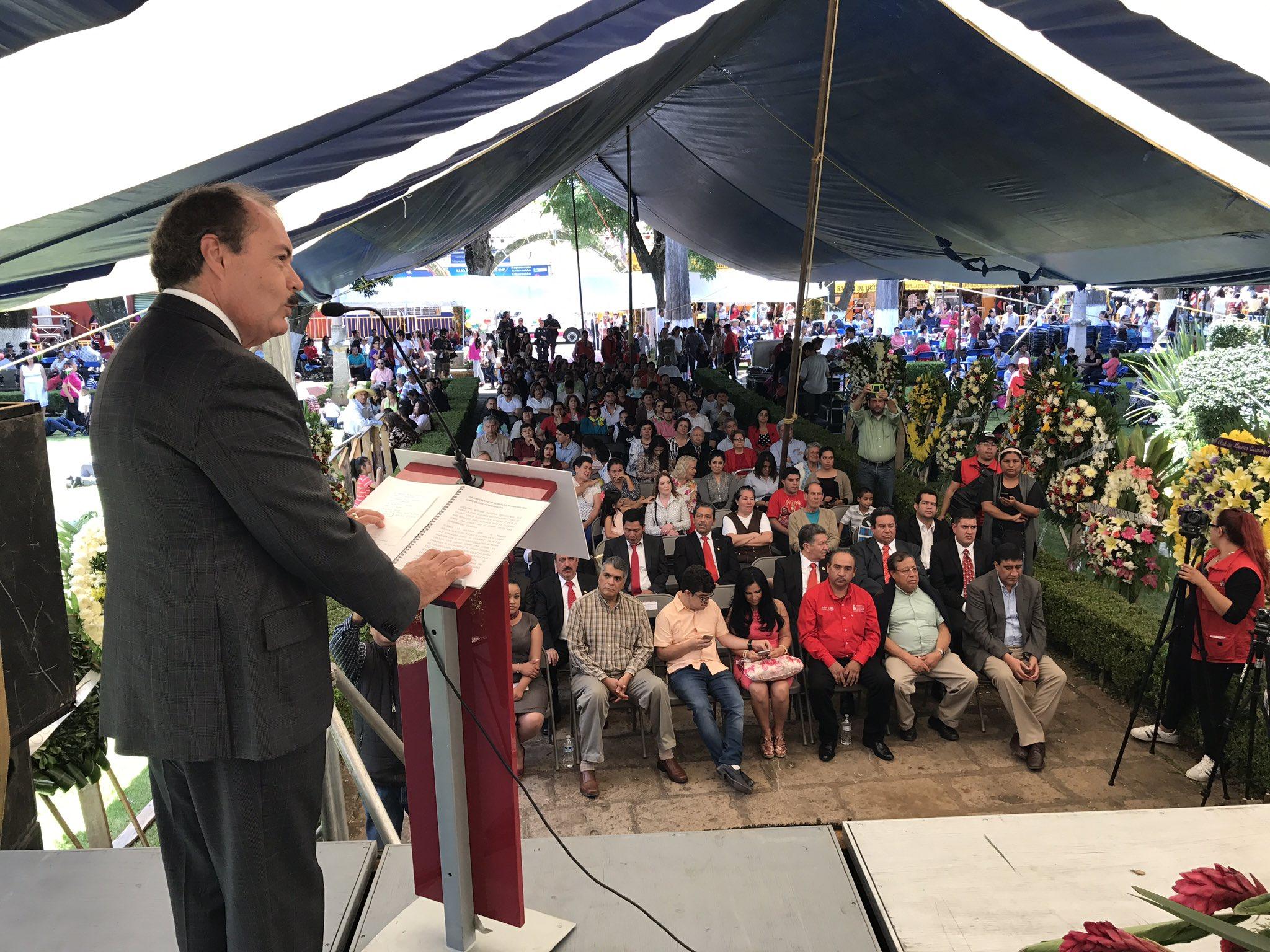 En #Quiroga, conmemoramos el 165 Aniversario como municipio libre y 31 Aniversario como ciudad de Michoacán. https://t.co/bbR7PXURua