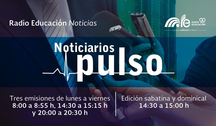 Escucha 'Tiempo y espacio' a las 14:10 h y  'Pulso dominical' a las 14:30 h https://t.co/n0obuzz8TY https://t.co/zNg3mZ9gQt