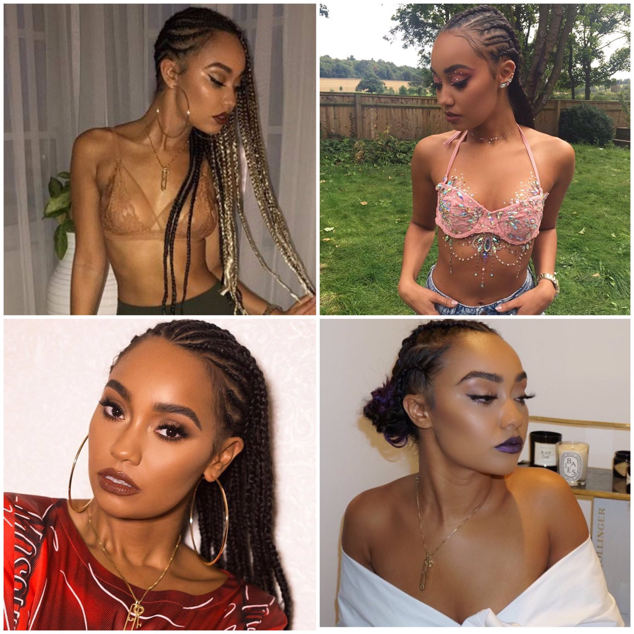 Chick with the braids ���� Which one is your favourite look on our Leigh? ���� LM HQ x https://t.co/wtNGYIaHzg