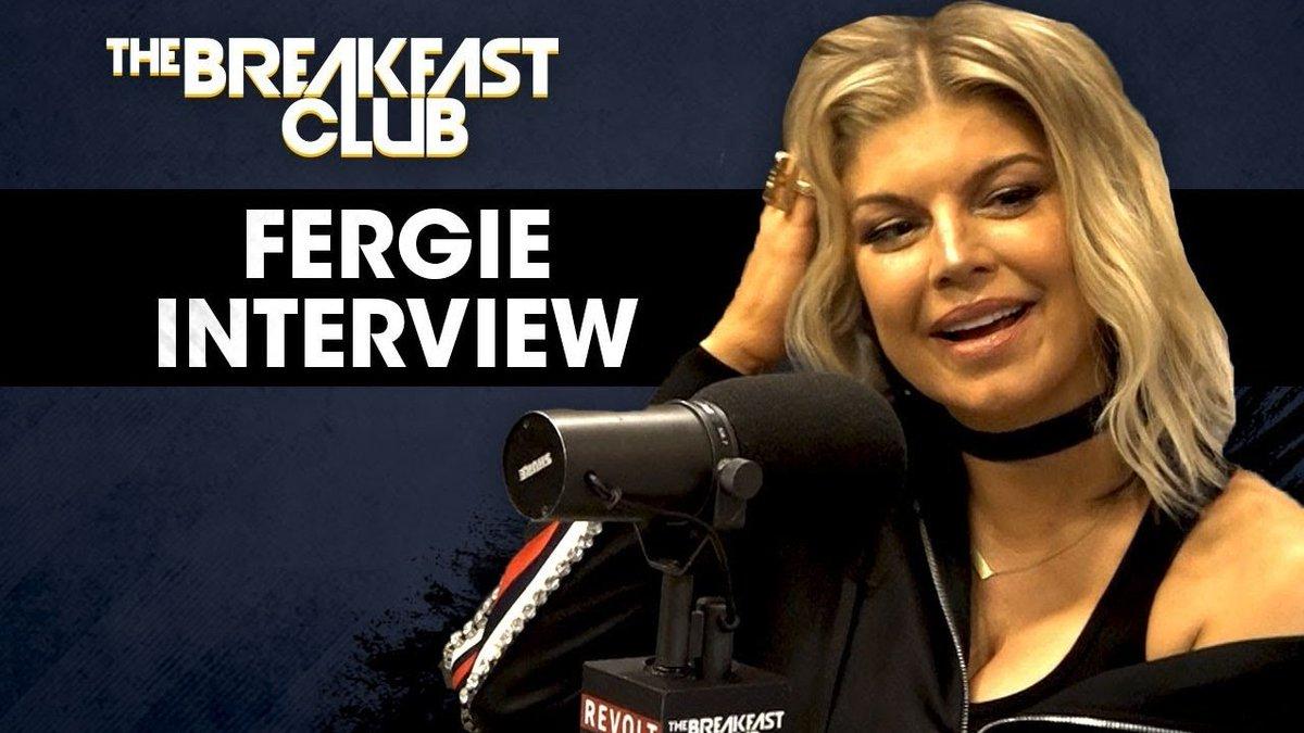 RT @breakfastclubam: .@Fergie Talks New Music, MILFs, Black Eyed Peas & More https://t.co/BqTLW0xEgC https://t.co/V5TDLYw7bg