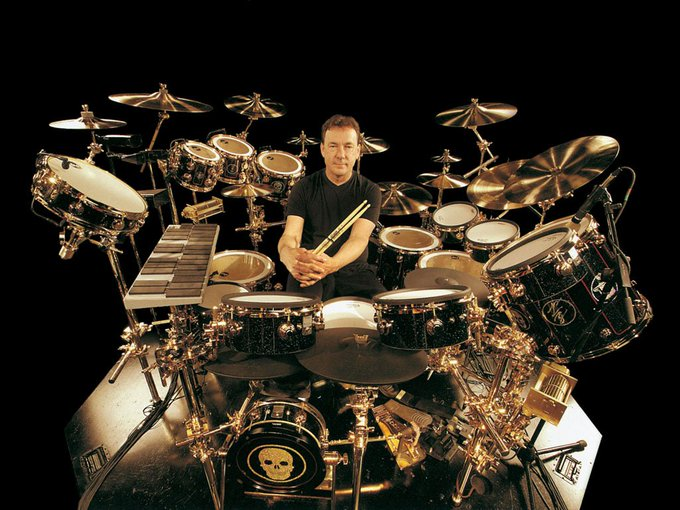 Happy Birthday Neil Peart (RUSH). We\d love to get some more drums, but...err..
