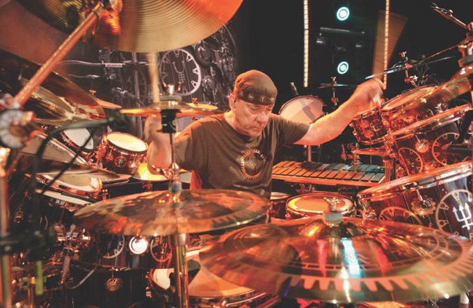 Happy Birthday Neil Peart, from RUSH!!