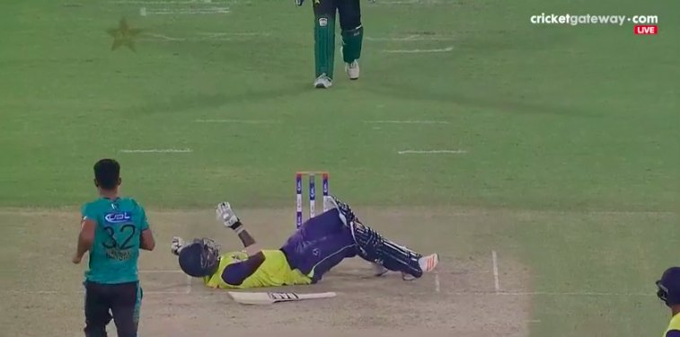 RT @I_am_HUMNA: What a Yorker by Hassan Ali ! #PAKvWXI https://t.co/Z1iX7FWFp8