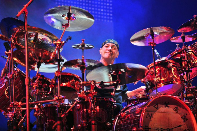 "Happy 65th Birthday to ""The Professor\"" NEIL PEART. Drummer & Lyricist for  Prog-Rock Icons: RUSH."