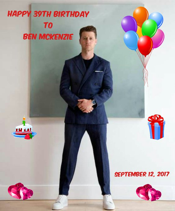 Happy Birthday to my favorite actor Ben Mckenzie