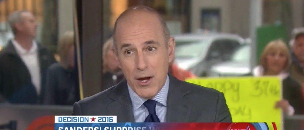 Matt Lauer Bending The Knee To Hillary Is An Embarrassing Move [VIDEO] https://t.co/YBbN9OWzb8 https://t.co/iu6LJkwNN6