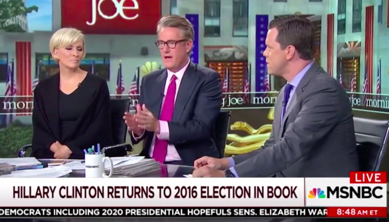 Joe Scarborough Not Feeling New Hillary Book: 'This is Not Helping the Democratic Party' https://t.co/5iVha4kMK3 https://t.co/UgYtMweuRf