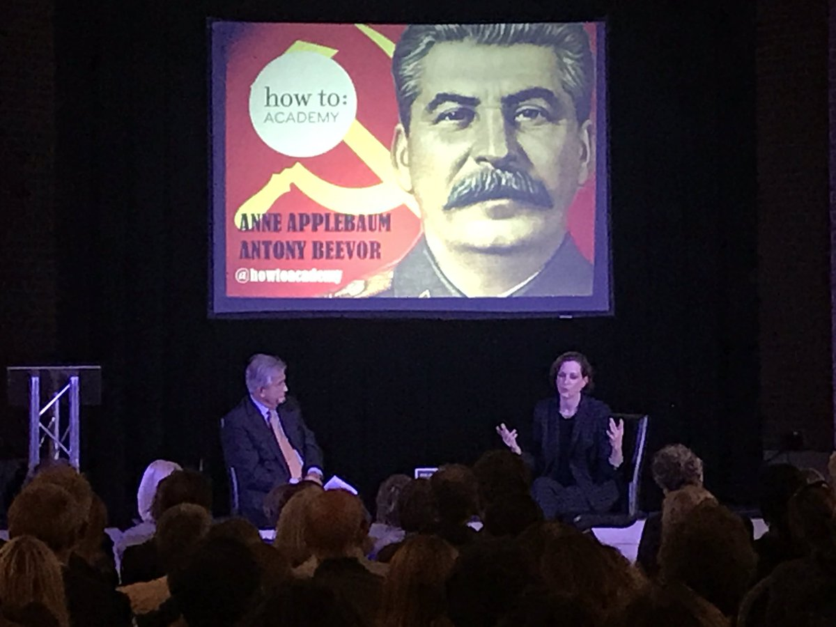 test Twitter Media - . @anneapplebaum discussing with Antony Beevor, Stalin's Policy of Collectivization and its horrific consequences on the poeple of #ukraine https://t.co/SeSw7b0xgA