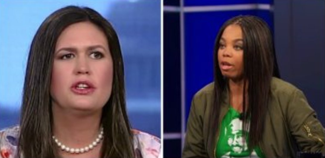 Twitter Reacts to Sarah Sanders Saying Jemele Hill Should be Fired: 'Sit the Hell Down' https://t.co/BU4Rq3WXTT https://t.co/u3fdaZPkQ3