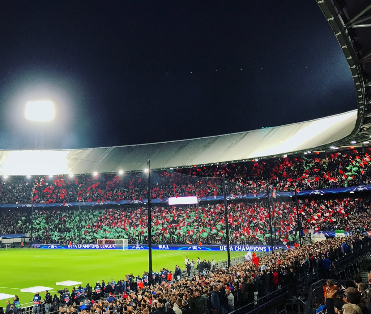 RT @Feyenoord: Thanks for the great support today... 🔴⚪️🇳🇬  #feymci #UCL https://t.co/ctuSM61j6D