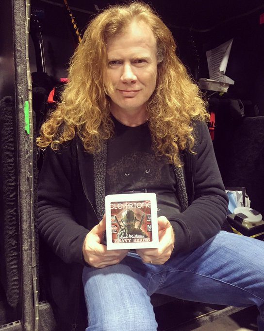 Happy birthday Dave Mustaine,thanks for the music..