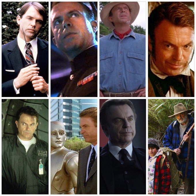 Happy 70th birthday to Sam Neill! Some highlights: