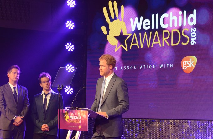 Happy birthday to WellChild Patron Prince Harry. We are very grateful for all the amazing support.