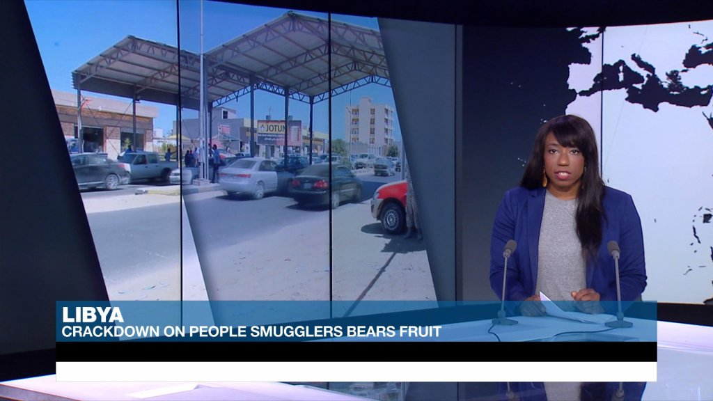 ACROSS AFRICA - Crackdown on people smugglers in Libya bears fruit