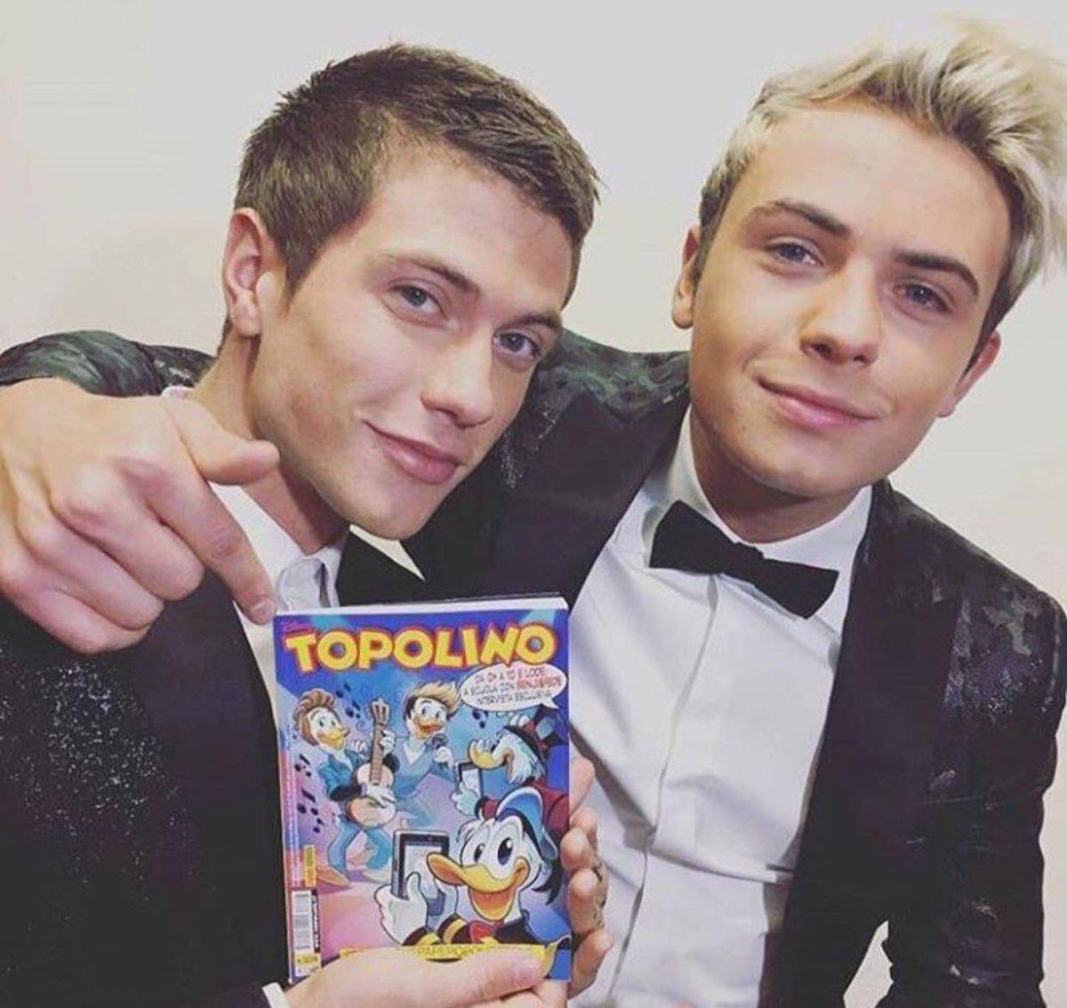 Benjamin e Federico