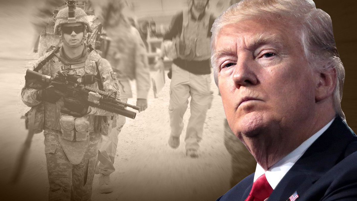Trump says he's pondering an armed forces parade to show nation's military might