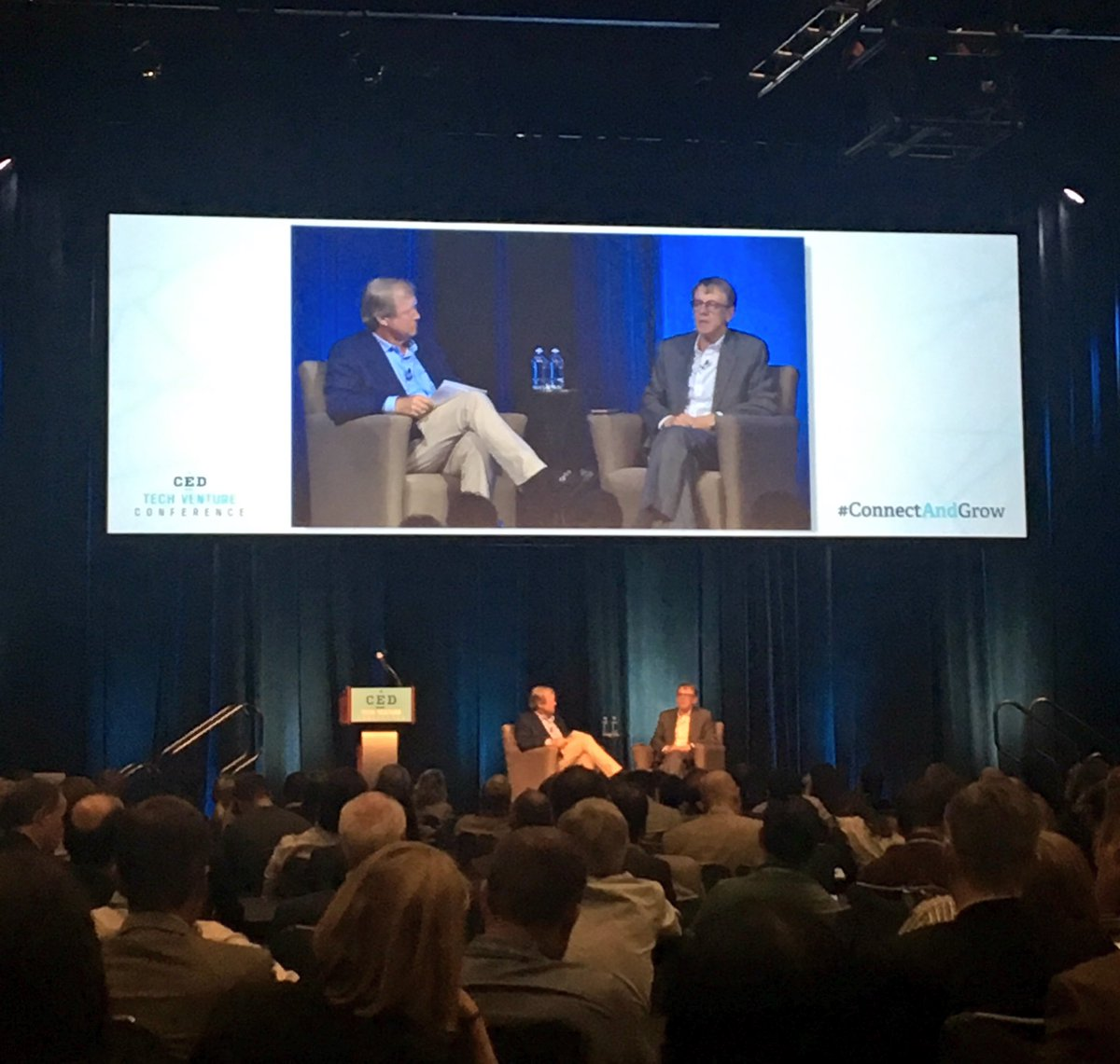 .@johndoerr says the future of tech is in #AI and #IA. #CEDTVC #ConnectAndGrow https://t.co/ccqMDEsLhj