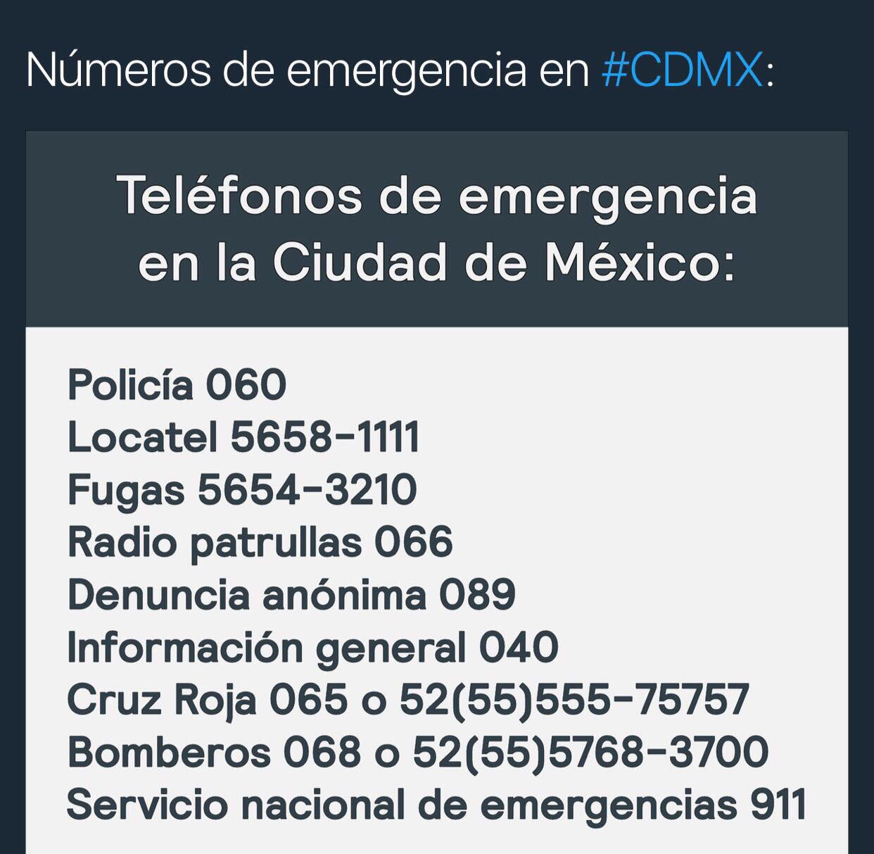 Por favor compartan #Mexico estamos con ustedes #FuerzaMexico #PrayForMexixo �� https://t.co/vM9pwdXxXg https://t.co/3n6xSxTHIV