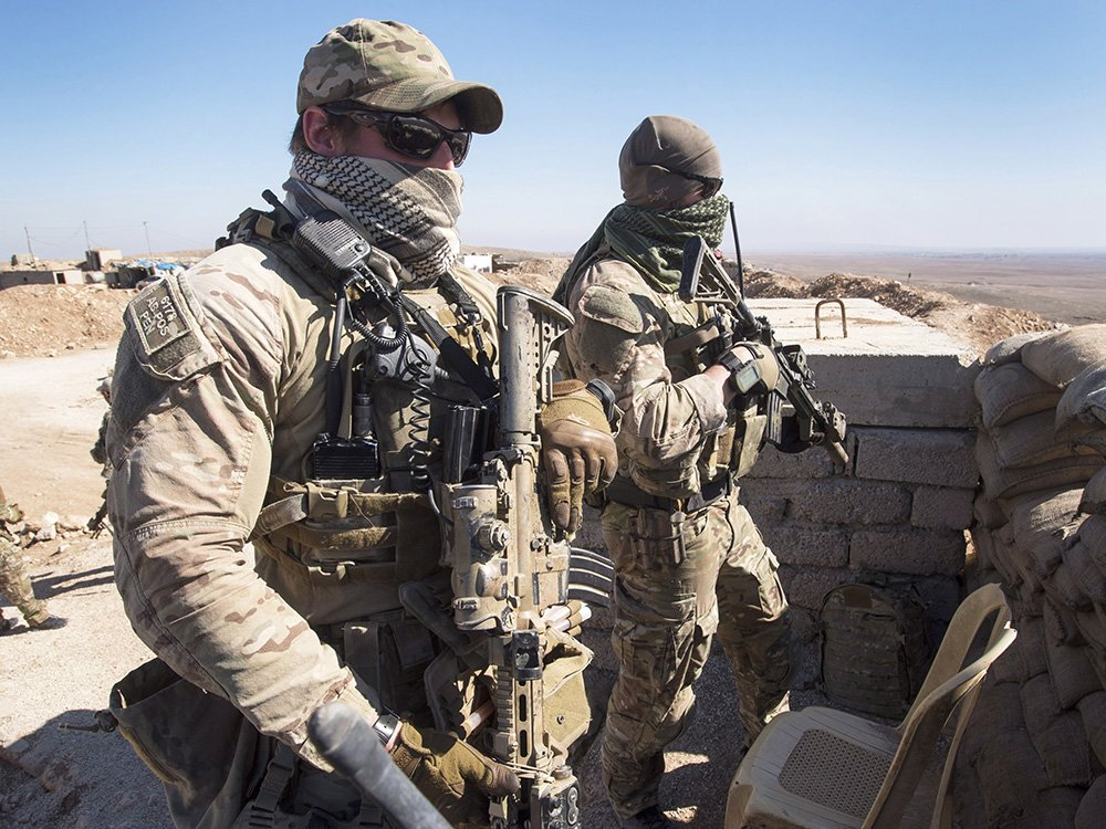 Canadian special forces involved in battle to push ISIL out of the Iraqi city of