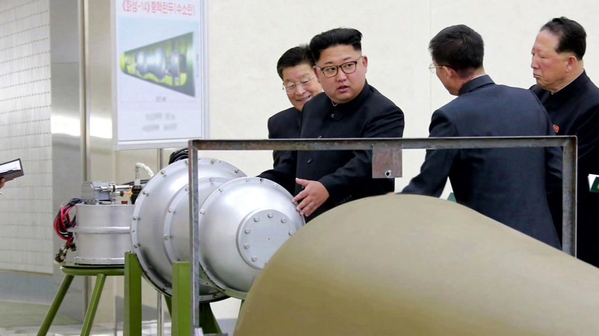 #BREAKINGNEWS #NorthKorea says it may test hydrogen bomb in Pacific