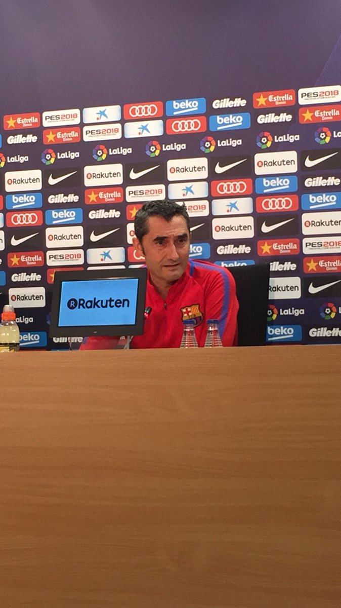 �� Valverde: 'Girona are playing well and getting good results at home, it will be a difficult match' #GironaBarça https://t.co/ftLvphfrE4