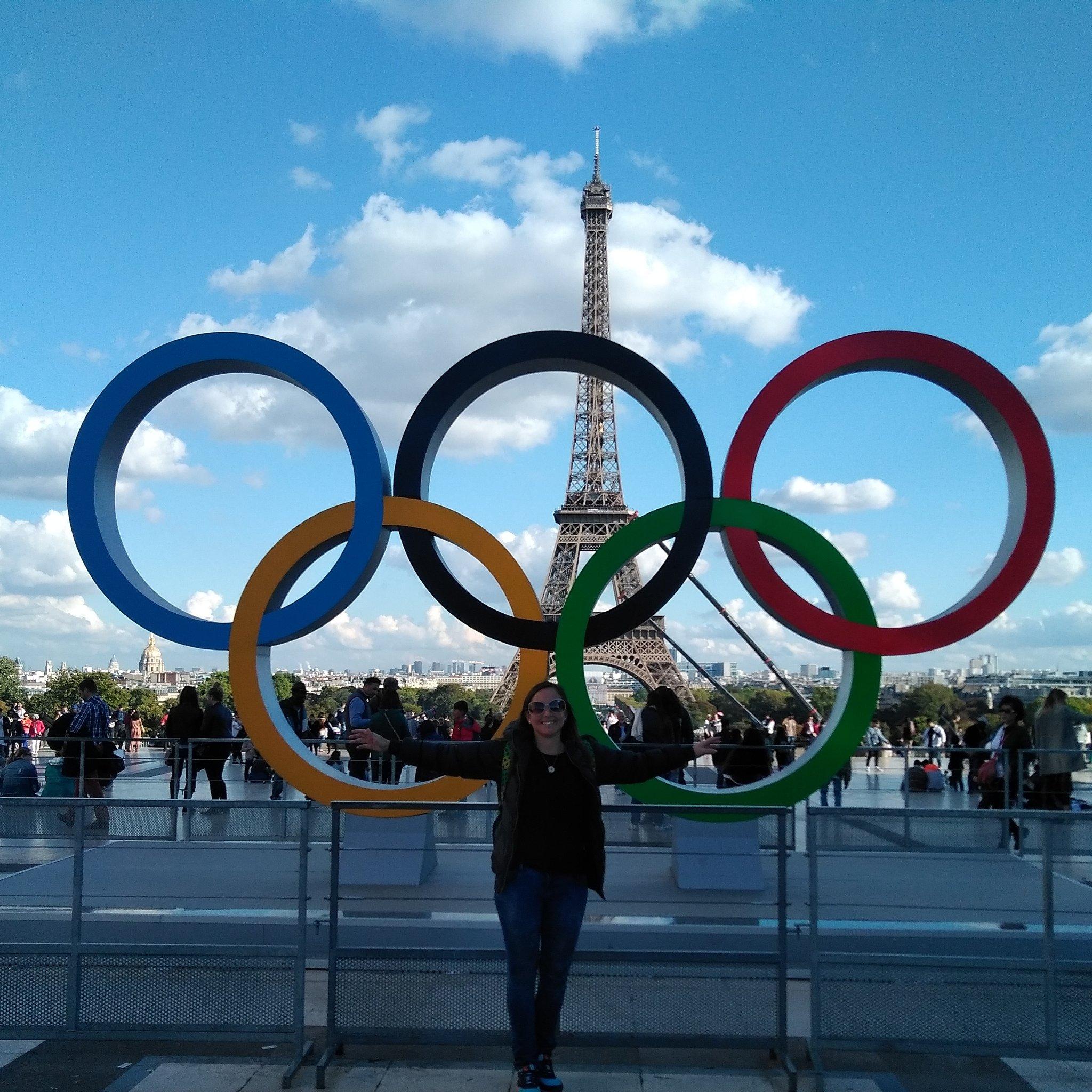 En #París donde ya se respira el espíritu olímpico #Paris2024 fue designada en #Lima hace unos días https://t.co/cOXhVSXIbW