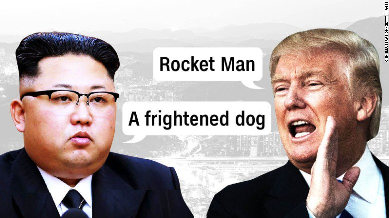 Here are all the times that President Trump has insulted North Korea