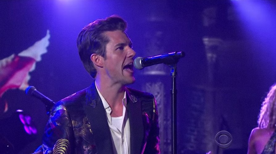 See the Killers' swaggering performance of 'The Man' on #LSSC https://t.co/npRpUY7b32 https://t.co/ym5yxNpxFX