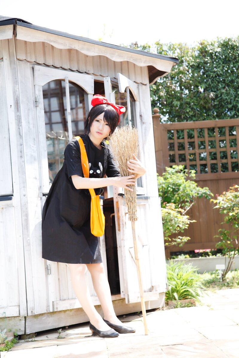 久しぶりに写真編集しました☆キキです♪♪(*^_^*)*Kiki on Kiki's Delivery Service