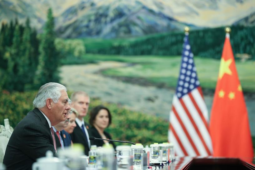"U.S. ""probing"" to see if North Korea interested in dialogue: Tillerson"