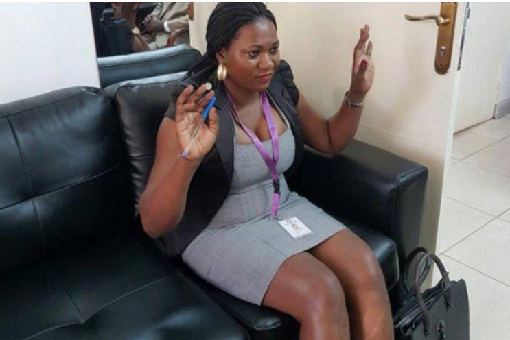 Indecent dressing: Court clerk suspended for wearing short, tight dress