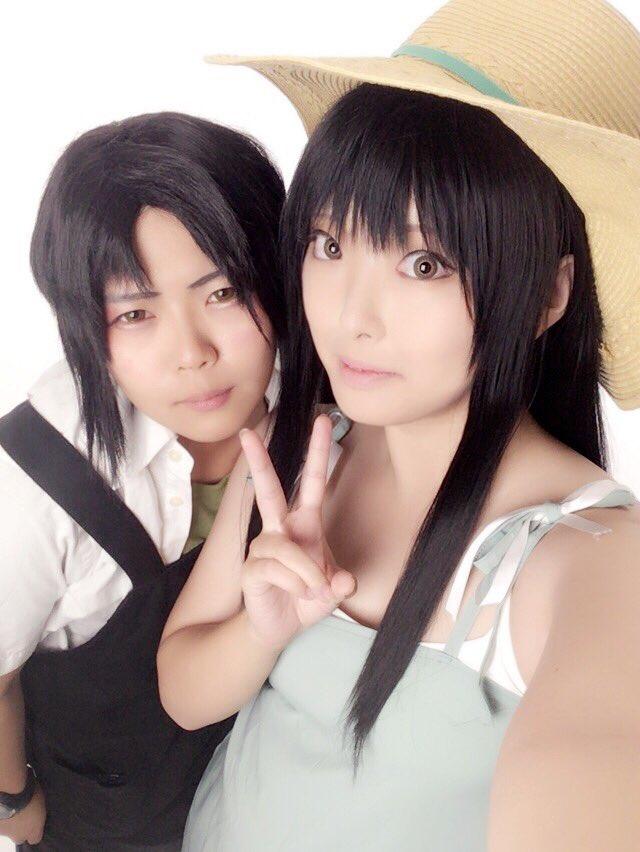 【コス/写メ①】彰さんのとこのファフナー撮影会にお邪魔して来ました…!翔子と僚先輩やってきたよ✌︎('ω')✌︎久々にフ