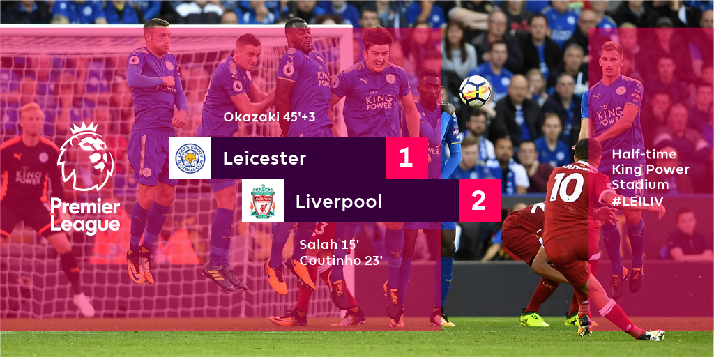Leicester have a toehold back in the match after a commanding opening...
