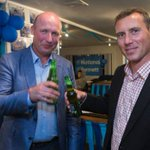 National MPs David Bennett and Tim Macindoe paint Hamilton blue