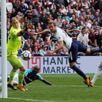 Kane bags brace as Spurs hammers The Hammers