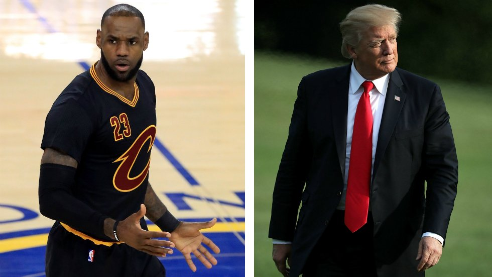 LeBron James to Trump: It was an honor to visit the White House until you showed up https://t.co/RPcBuHAhAJ https://t.co/RXAhzA3prU