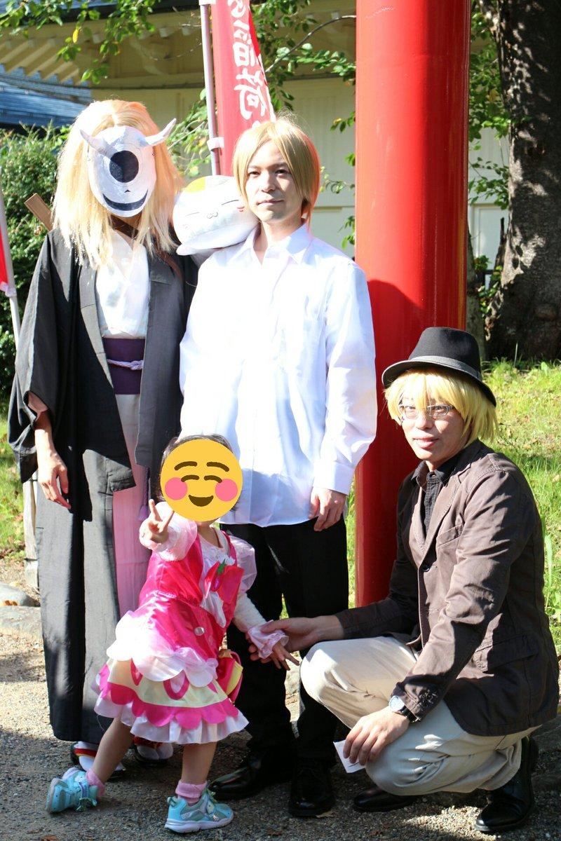 地元の上杉神社にて開催の、屋外コスプレイベントに参加してきました(^ー^)友達に誘われてだったので、友達の要望で夏目友人