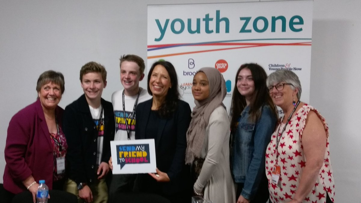 Great to meet with so many inspiring young people at the Youth Zone #Y...
